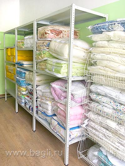 Склад интернет-магазина одежды для новорожденных