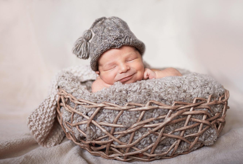 Фото к статье Интересные факты о новорожденных малышах